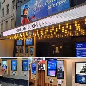 Odeon Premiere Cinema London Leicester Square