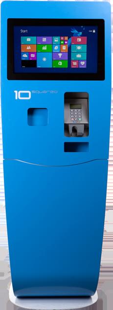 XTf/ XTw, 10 Squared's Self-Service Kiosk