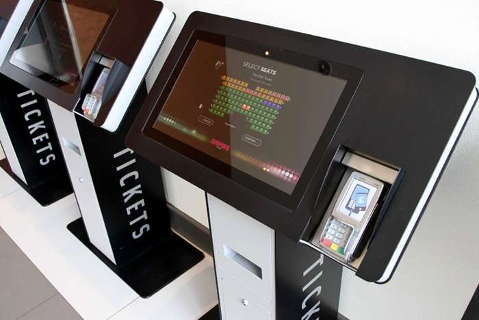 Empire Cinema Ticket Machines