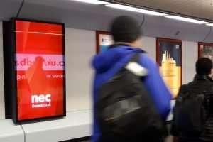 NEC Birmingham Digital Signage Installation