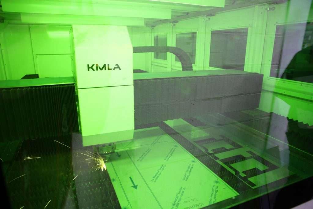 Kimla CNC Fabriction process