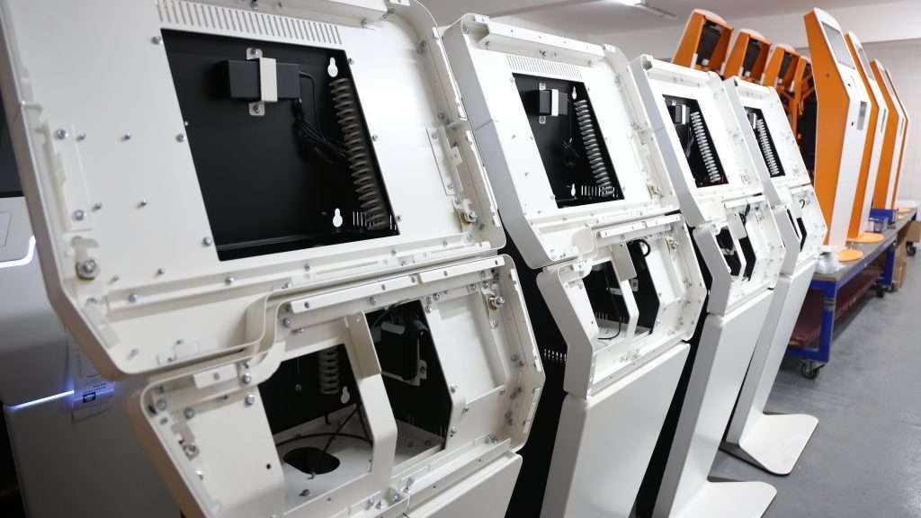 Kiosk Manufacturing Process - Bulk